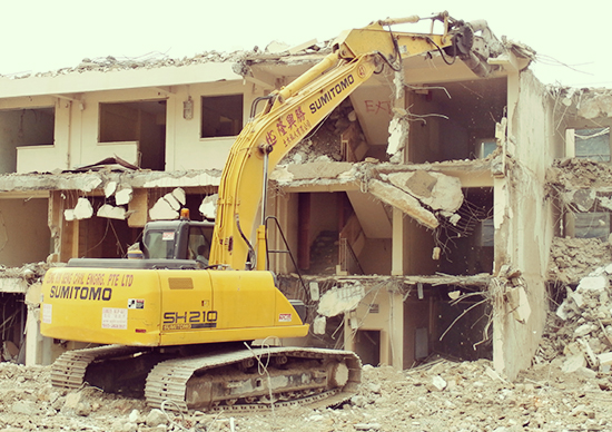 Demolition Works - Leong Hin Seng Civil Engineering