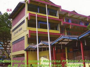 Jalan Membina Barat - School Demolition