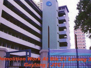 Geylang Square Blk 51 Lorong JTC - Building Demolition Work