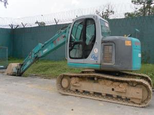 Kobelco SK135SR Excavator - Excavators for Rent | leonghinseng.com.sg