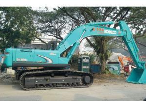 Kobelco SK350LC-8 Hydraulic Excavator - Excavators for Rent | leonghinseng.com.sg