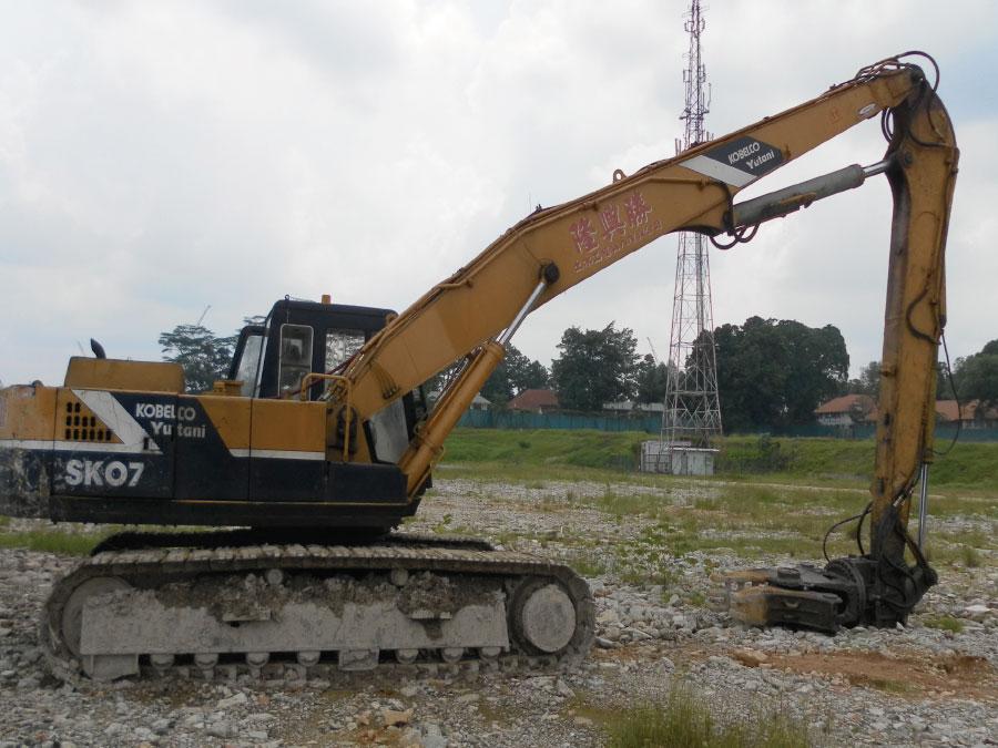 Singapore Excavators Available For Rent Leong Hin Seng
