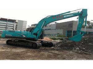 Kobelco SK260LC-8 (Super) Hydraulic Excavator - Excavators for Rent | leonghinseng.com.sg