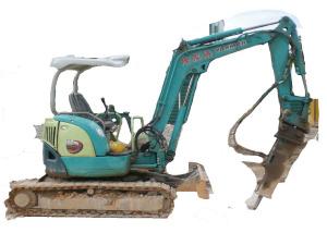 Yanmar VIO30-2 Mini Excavator EX30-2 Mini Excavator - Excavators for Rent | leonghinseng.com.sg