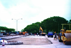 Woodlands Road (Heavy Vehicle Park) - Civil Engineering