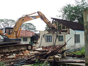 Blk 551B Seletar West Camp - Building Demolition
