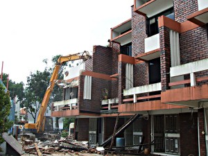 Orchard Road - Building Demolition Work