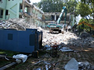 15th Napier Rd. Former Police Station - Building Demolition