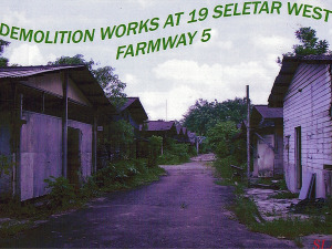 Seletar West Farm - Building Demolition Work