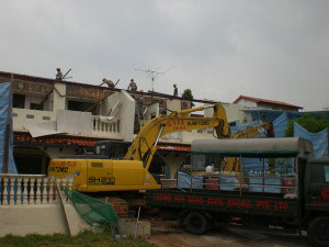 6 & 6A Jalan Salleh - Building Demolition Work