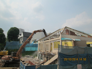 Church Of The Holy Spirit (248 Upper Thomson) - Building Demolition Work